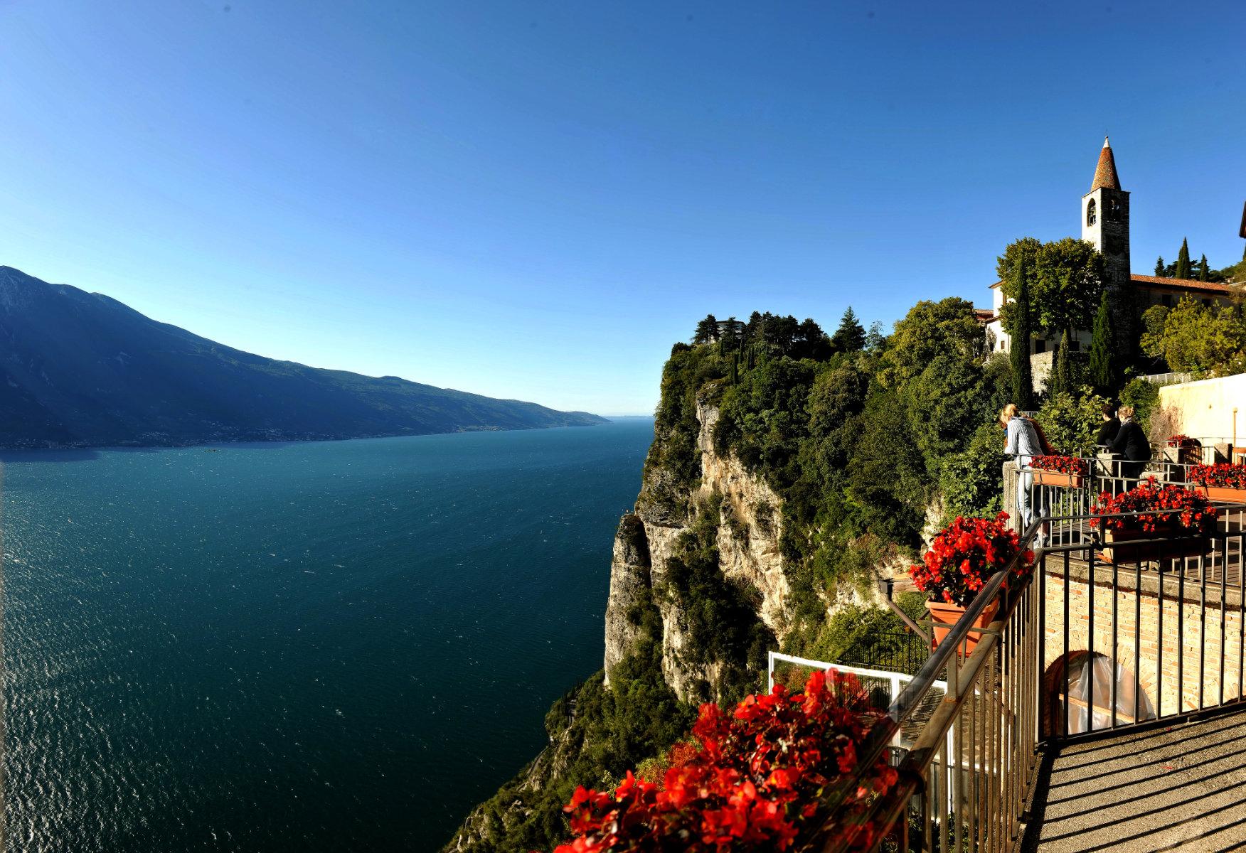 Balconies Overlooking Lake Garda Tremosine Sul Garda