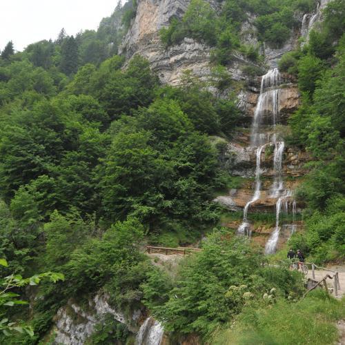 La Cascata del Pra di Lavino o Pisù