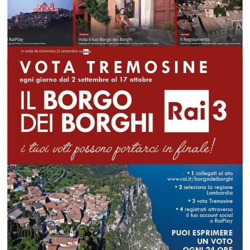 Vota Tremosine sul Garda come Borgo dei Borghi 2019!
